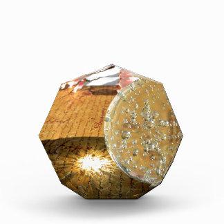 水晶単語 表彰盾