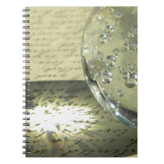 水晶原稿 ノートブック
