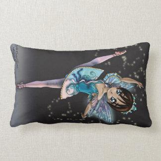 水晶噴水の枕の妖精 ランバークッション