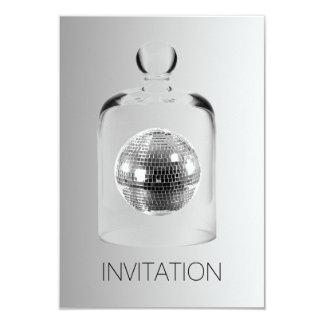 水晶地球のナイトクラブのパーティVipの招待状 カード