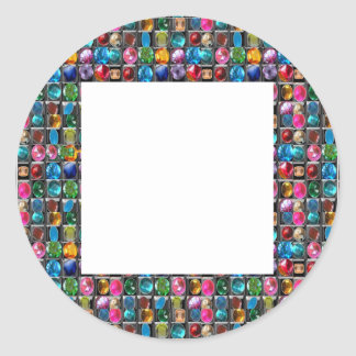 水晶宝石の真珠フレームのブランク: DIY 2014年 ラウンドシール