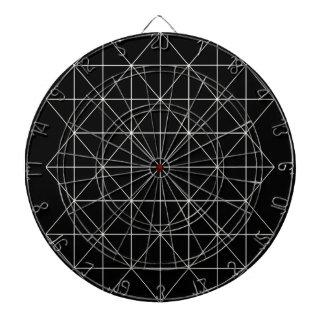 水晶寺院の神聖な幾何学 ダーツボード