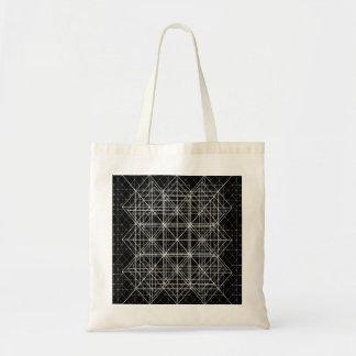 水晶寺院の神聖な幾何学 トートバッグ