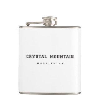 水晶山ワシントン州 フラスク