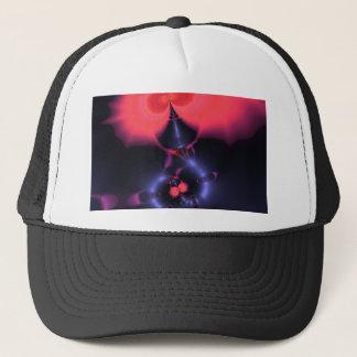 水晶幽霊-サケ及びインディゴの驚きの容認 キャップ