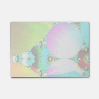 水晶日の出、抽象的なフラクタルの虹 ポスト・イット®ノート