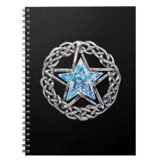 水晶星の螺線形ノート ノートブック