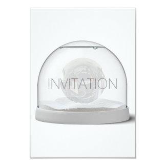 水晶白い灰色クラブパーティVipの招待状 カード