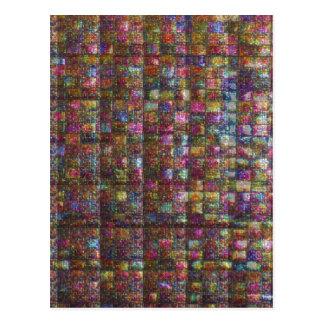 水晶石造りのタイルの仕事のエジプト博物館ニューヨーク ポストカード