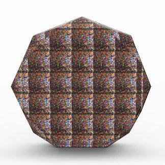 水晶石造りのタイルの仕事のエジプト博物館ニューヨーク 表彰盾