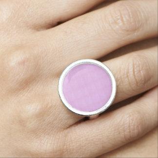水晶石造りのピンク愛ロマンスnvn242デートすること リング