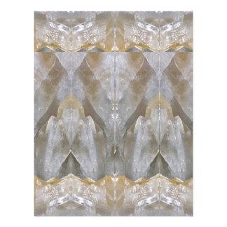 水晶石造りの宝石の治療の成功のおもしろいRT NVN473 レターヘッド