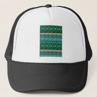 水晶緑の写実的なパターン装飾のギフト キャップ