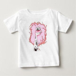 水晶花 ベビーTシャツ