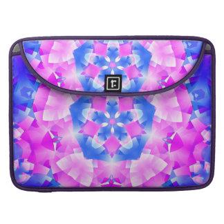 水晶軽い曼荼羅 MacBook PROスリーブ