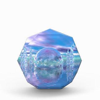 水晶都市 表彰盾
