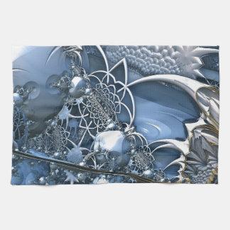 水晶青い魅惑 お手拭タオル