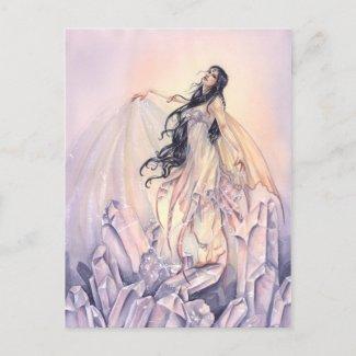 水晶魔法 ポストカード