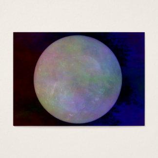 水晶Crystallの球 名刺