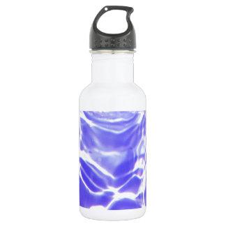 水波は透明で素晴らしいガラスのタイルBを落とします 532ML ウォーターボトル