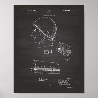 水泳のギャップ1942のパテントの芸術の黒板 ポスター