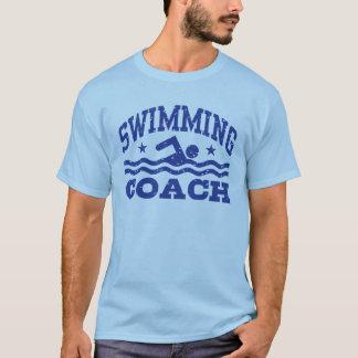 水泳のコーチ Tシャツ