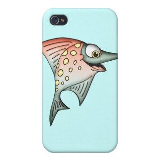 水泳の上流の魚 iPhone 4 COVER