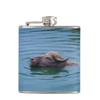水泳の水牛 フラスク