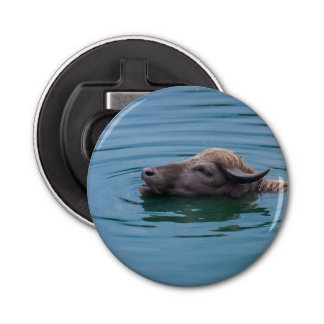 水泳の水牛 栓抜き