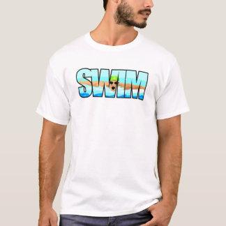 水泳の蝶 Tシャツ