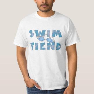 水泳の魔神-おもしろいな水泳のTシャツ Tシャツ