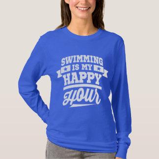 水泳は私の楽しい時間です Tシャツ