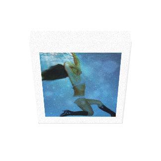 水泳 キャンバスプリント