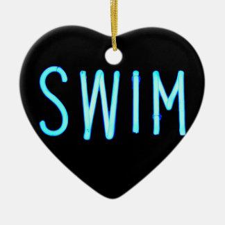 水泳 セラミックオーナメント