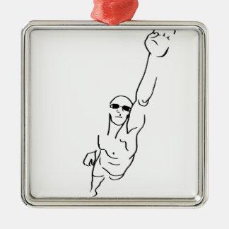 水泳 メタルオーナメント