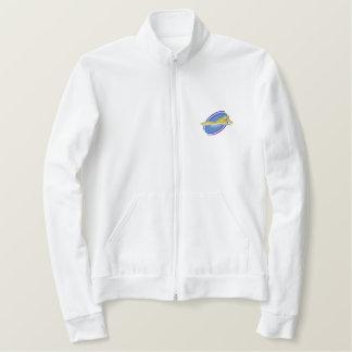 水泳 刺繍入りジャケット