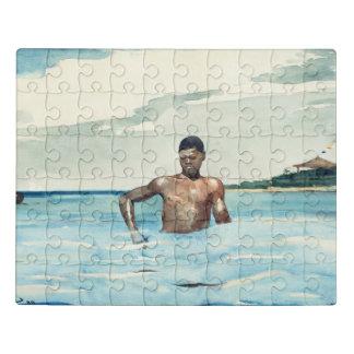 水浴者1899年 ジグソーパズル