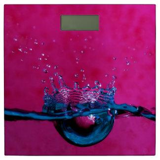 水滴の体重計 体重計
