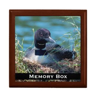 水潜り鳥のネスティングタイル箱 ギフトボックス