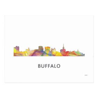 水牛のニューヨークのスカイラインWB1 - ポストカード