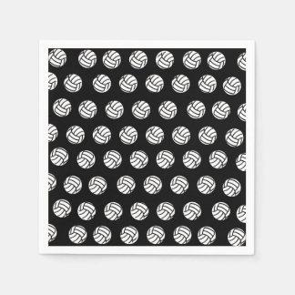 水玉模様のバレーボールのPattenの紙ナプキン スタンダードカクテルナプキン