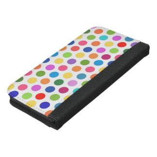水玉模様のパーティ第1 iPhone 6/6S PLUS ウォレットケース