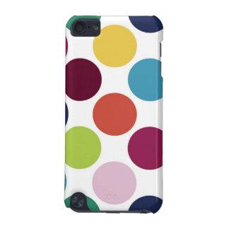 水玉模様の泡Ipod touchカラフルなSpeckの箱 iPod Touch 5G ケース