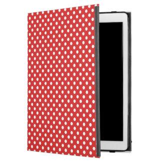 """水玉模様の背景 iPad PRO 12.9"""" ケース"""