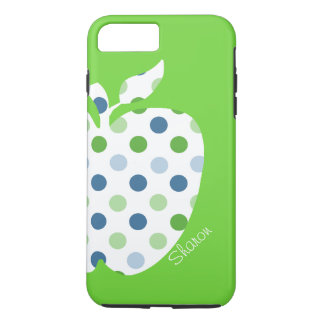 水玉模様のAppleの先生のiPhone 7のプラスの場合 iPhone 8 Plus/7 Plusケース