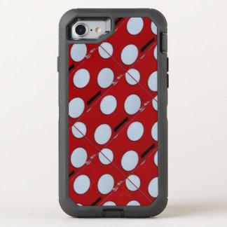 水玉模様のAppleのiPhone 6/6s オッターボックスディフェンダーiPhone 7 ケース