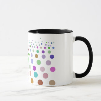 水玉模様パターントレンディー マグカップ