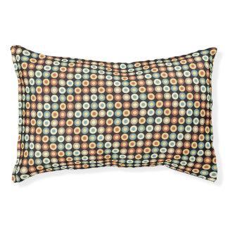 水玉模様パターン スモールドッグベッド