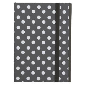 水玉模様パターンiPadの空気箱 iPad Airケース