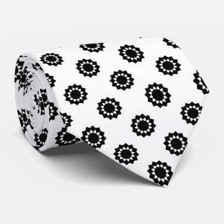 水玉模様白の12ポイント星の黒 オリジナルタイ